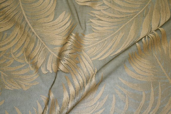 """FERN 110"""" / FOREST / 100% Polyester"""