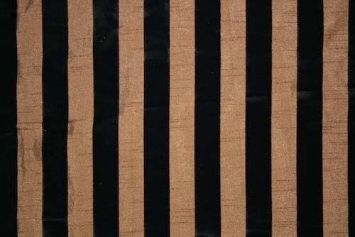 DIOR STRIPE / BRONZE                 / 100% Polyester