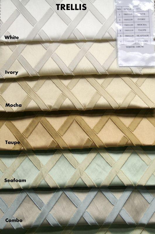 COLOR LINE / TRELLIS         / 100% Polyester