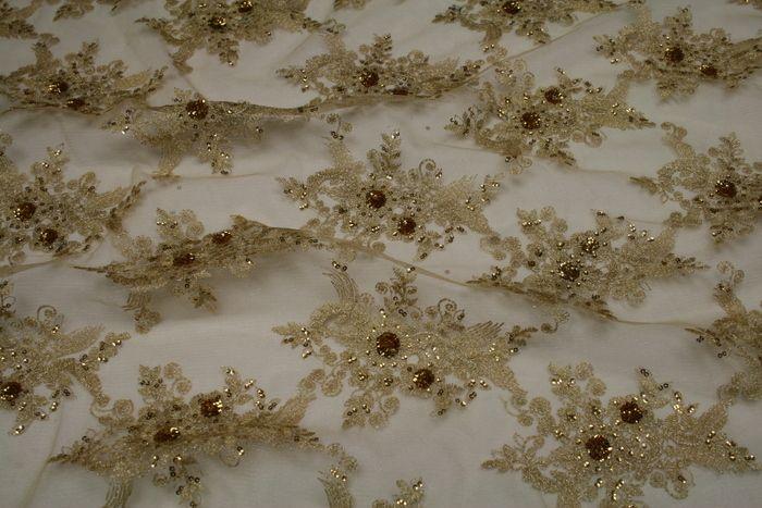 BLOSSOM / GOLD         / 100% Polyester