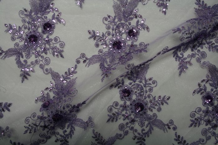 BLOSSOM / PURPLE / 50% Polyester 50% Nylon