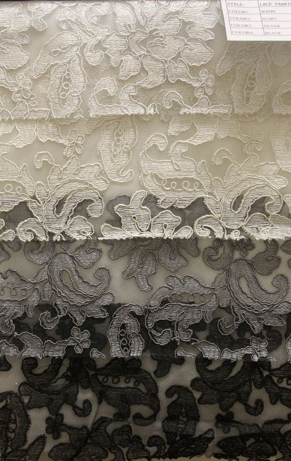 COLOR LINE / LACE FABRIC AVE         / 100% Polyester