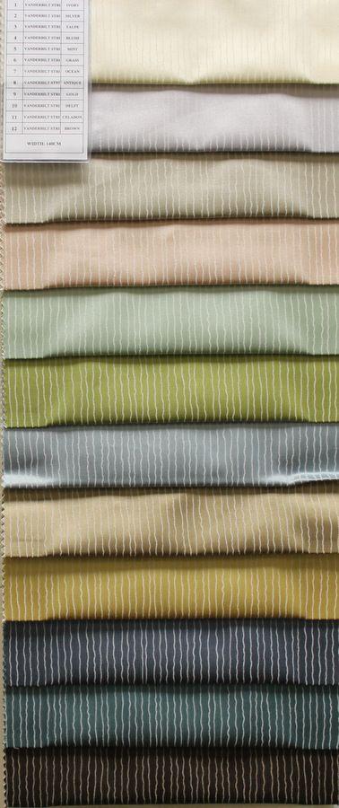 COLOR LINE / VANDERBILT STRI         / 100% Polyester