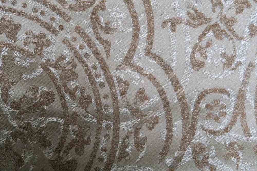 PORCELAIN / TAUPE-8 / 100% Polyester
