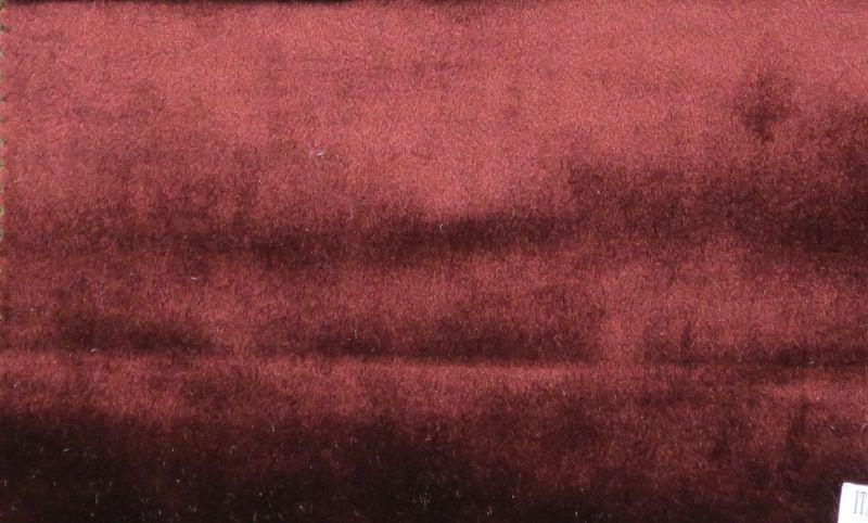 VELVETEEN / BURGUNDY-B22 / 100% Polyester 183cm