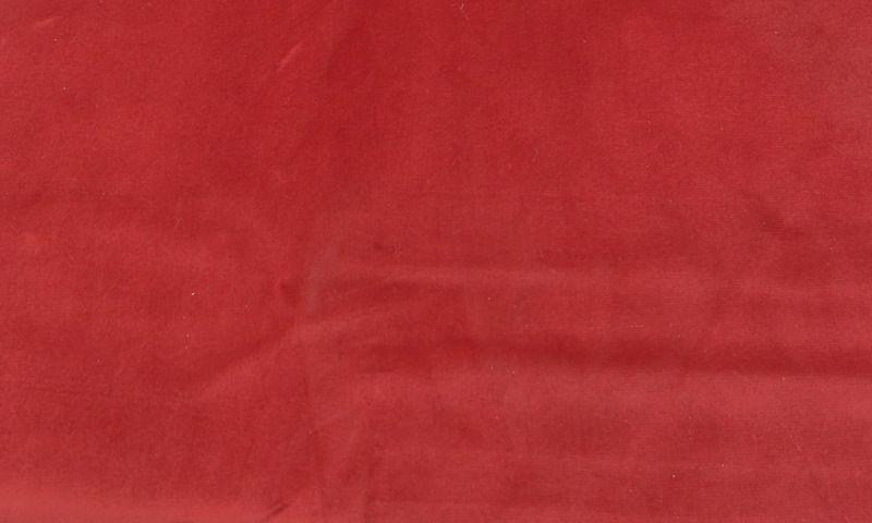 VELVETEEN / RED-32         / 100% Polyester 183cm