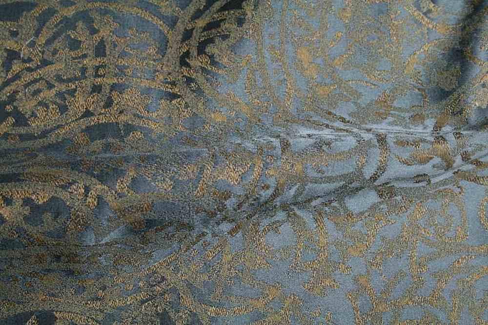 PORCELAIN / CLOUD BLUE-6                 / 100% Polyester