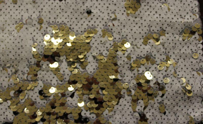 FESTIVAL / WHITE/GOLD         / 100% Polyester