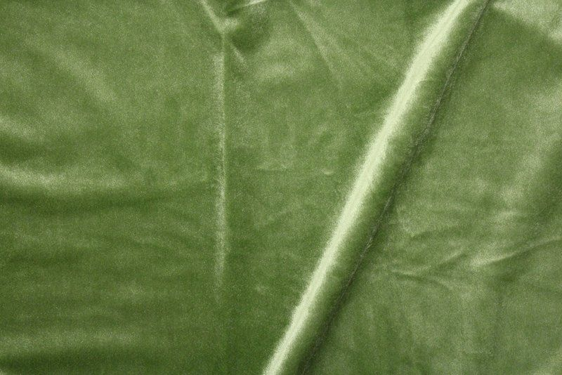 VELVETEEN / APPLE GREEN-15         / 100% Polyester 183cm