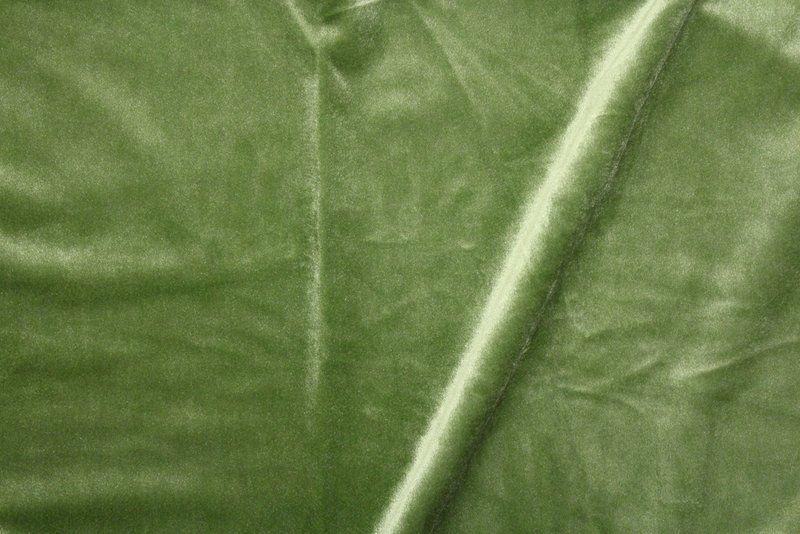 VELVETEEN / APPLE GREEN-15         / 100% Polyester 183cm