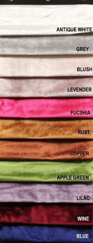 COLOR LINE / VELVETEEN #2 / 100% Polyester