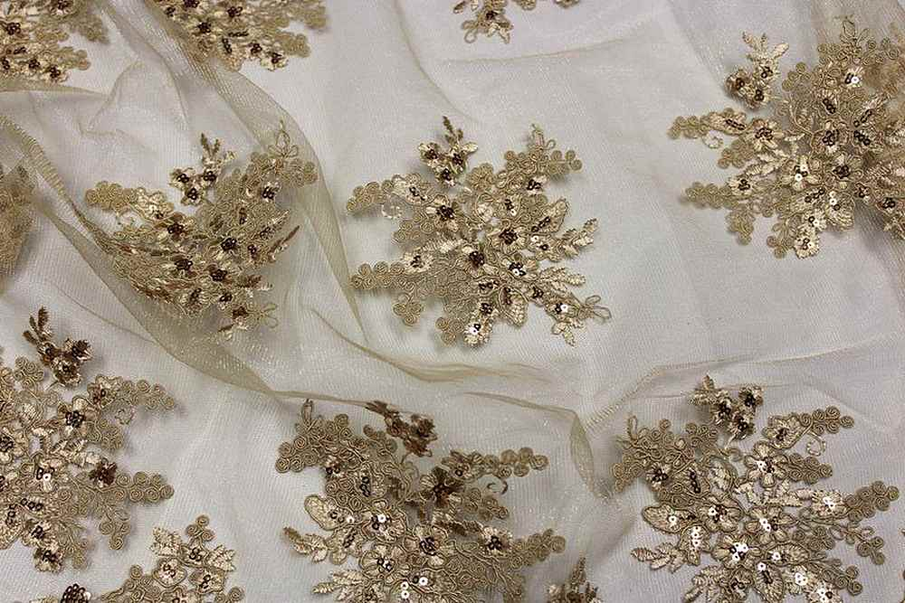 ALLEY / GOLD                 / 100% Polyester