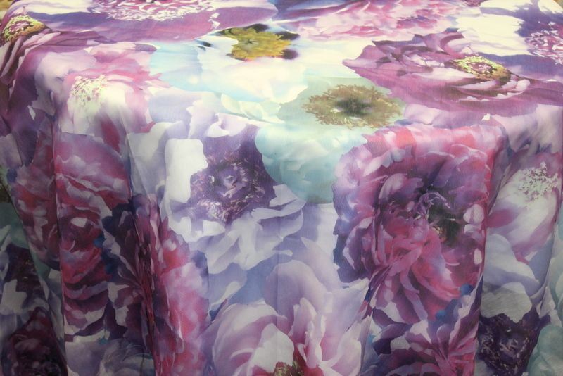 ROSEMARIE / PLUM         / 100% Polyester