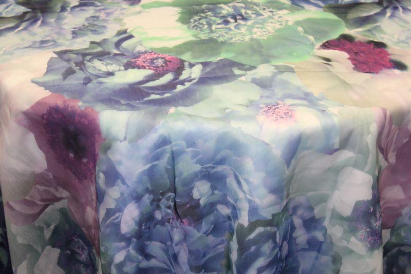 ROSEMARIE / BLUE                 / 100% Polyester