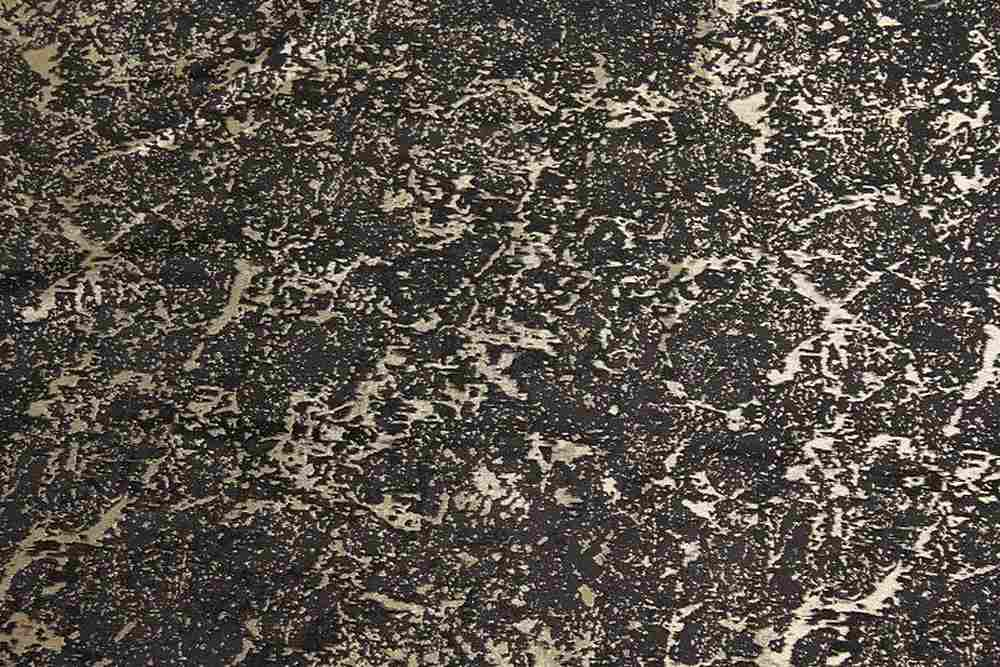 MARBLE / BLACK/GOLD-16         / 100% Polyester
