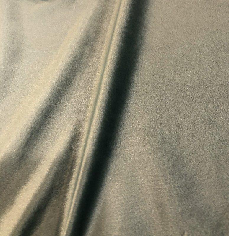 VELVETEEN / SOFT GREEN-49         / 100% Polyester 183cm