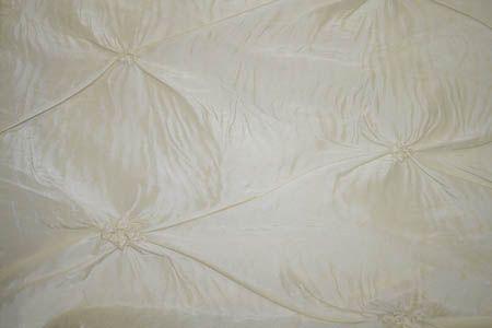 IMPALA 41-WHITE EMBROIDERD TEFFATA CLOSEOUTS