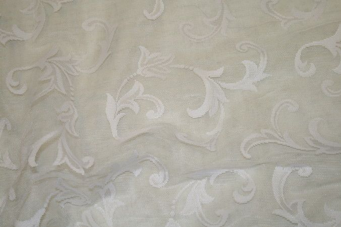 LACEY / IVORY / 100% Polyester