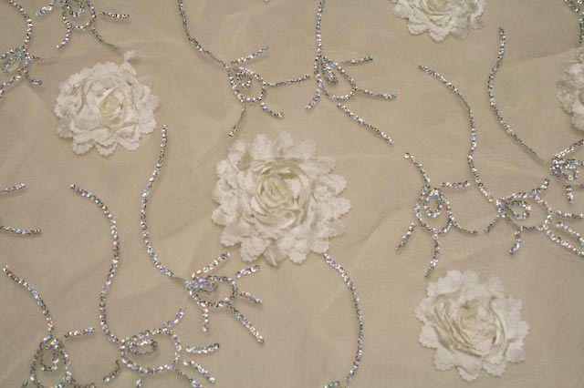 BRIDELY / IVORY / 100% Polyester