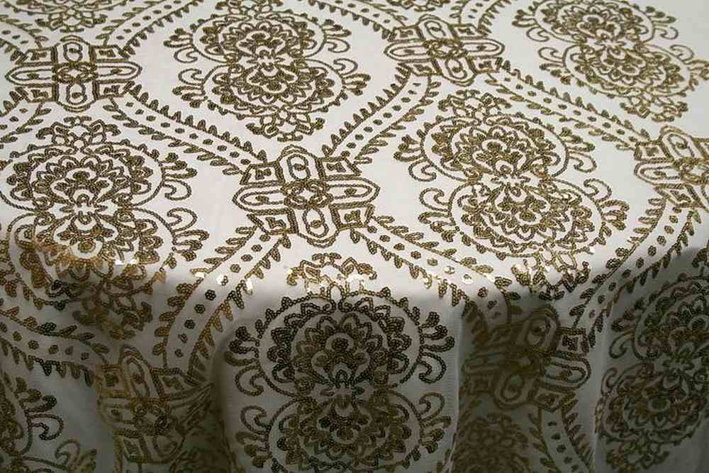 GLITTER GOLD JACQUARDS SEQUENCE
