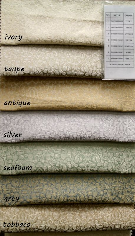 COLOR LINE / TASTER CHOICE / 100% Polyester