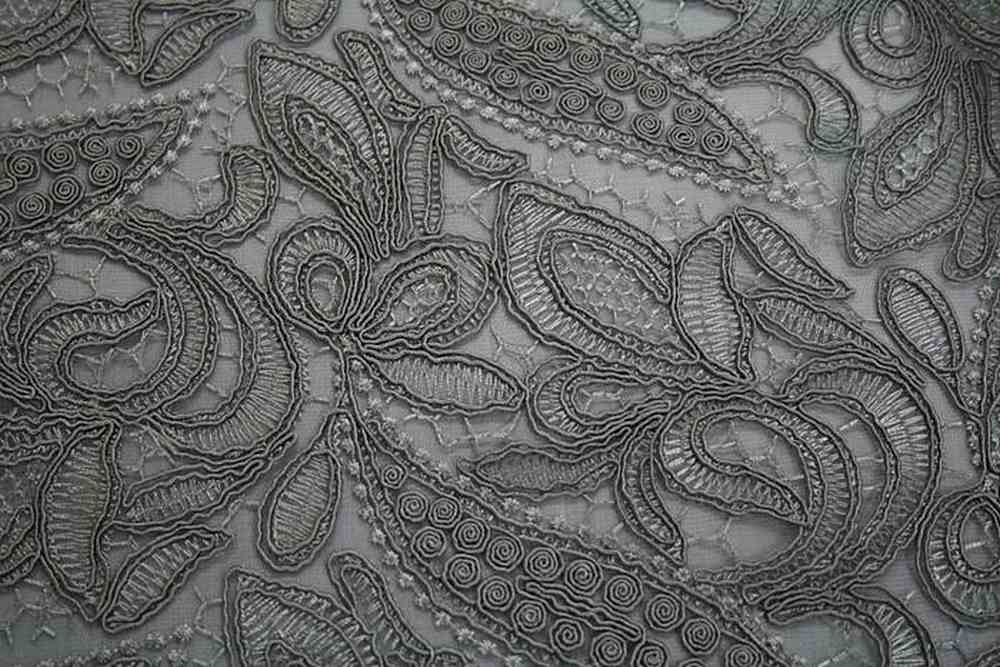 CREATION SILVER EMBROIDERD SHEERS LACES BEST SELLERS
