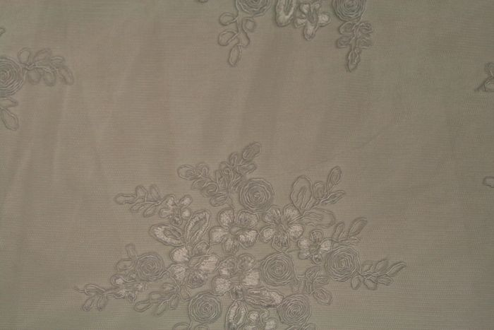 BELLAIRE IVORY EMBROIDERD SHEERS SEQUENCE