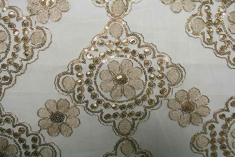 39TH ST. CHAMPAGNE EMBROIDERD SHEERS SEQUENCE