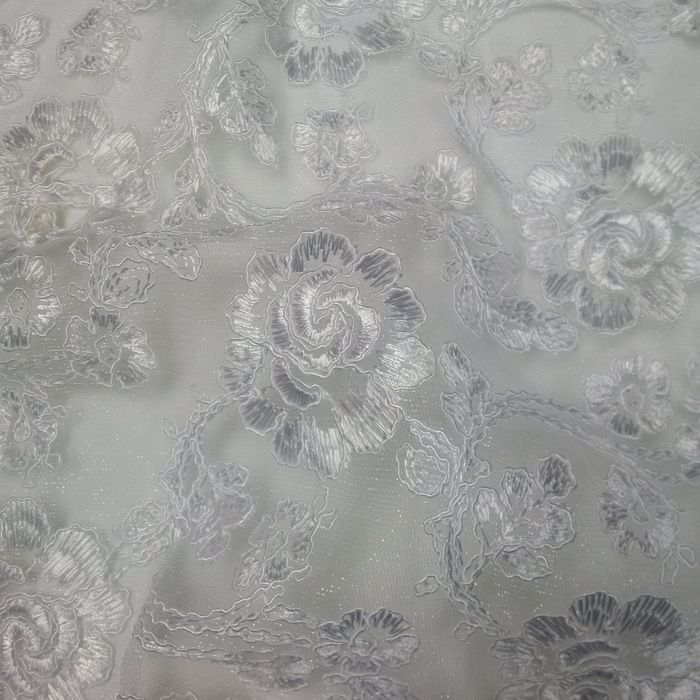 ROSEDALE / WHITE / 100% Polyester