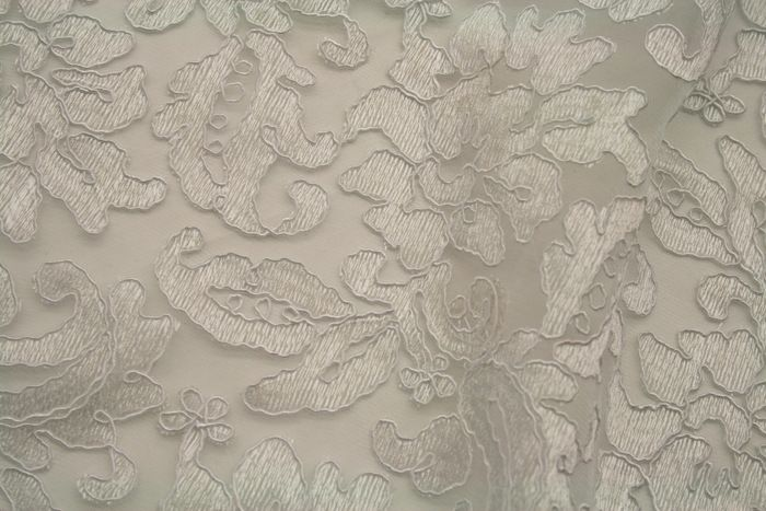 LACE FABRIC AVE / WHITE / 100% Polyester