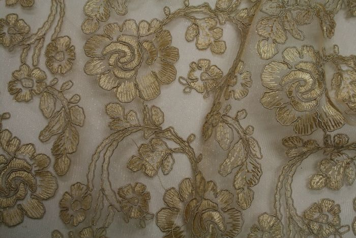 ROSEDALE ANTIQUE EMBROIDERD SHEERS SEQUENCE