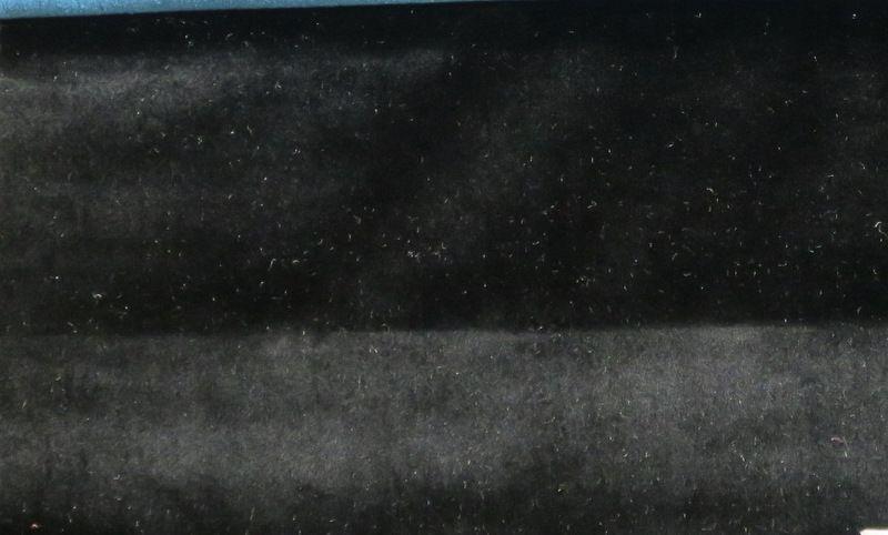 VELVETEEN / BLACK-B17 / 100% Polyester 183cm