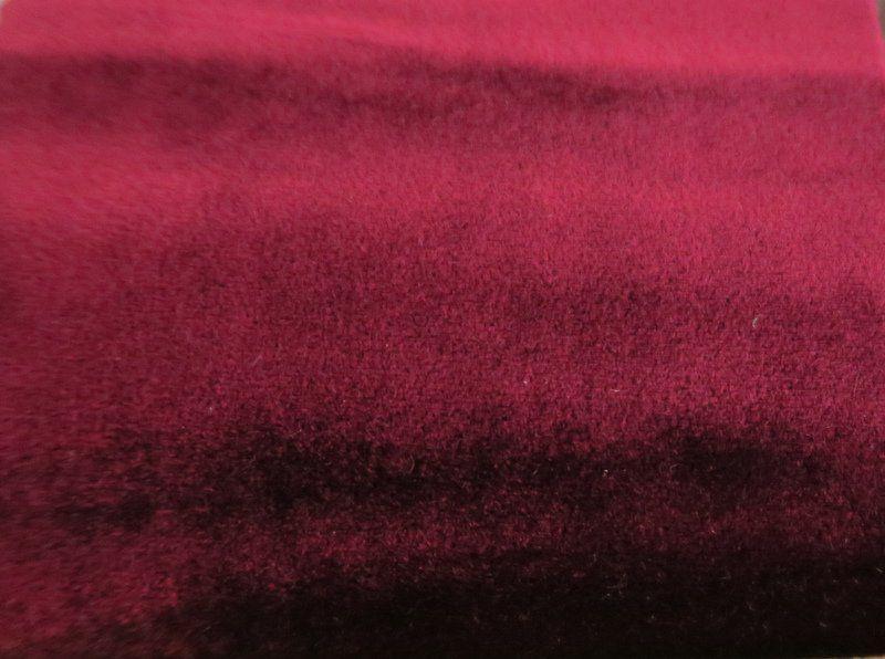 VELVETEEN / WINE-82 / 100% Polyester 183cm
