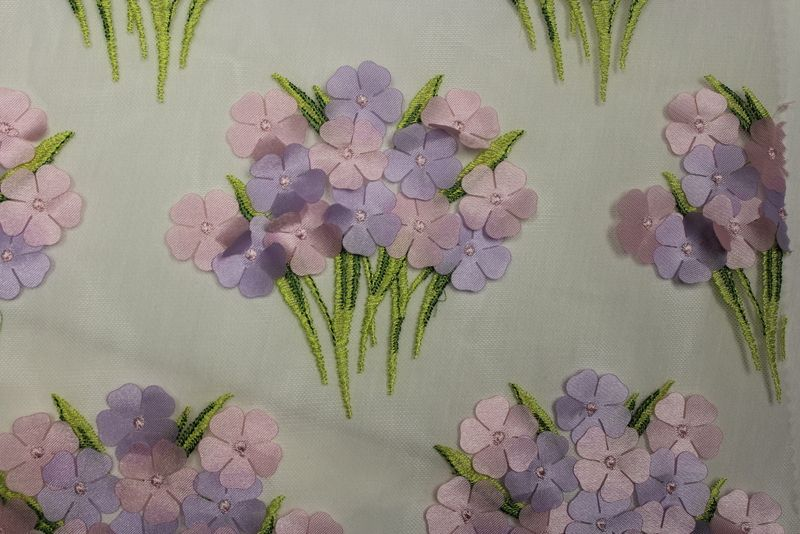BOUQUET / LILAC / 100% Polyester