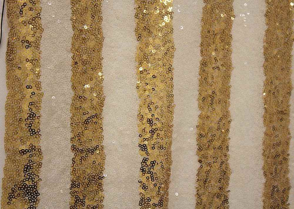 FIESTA / GOLD/IVORY-4 / 100% Polyester