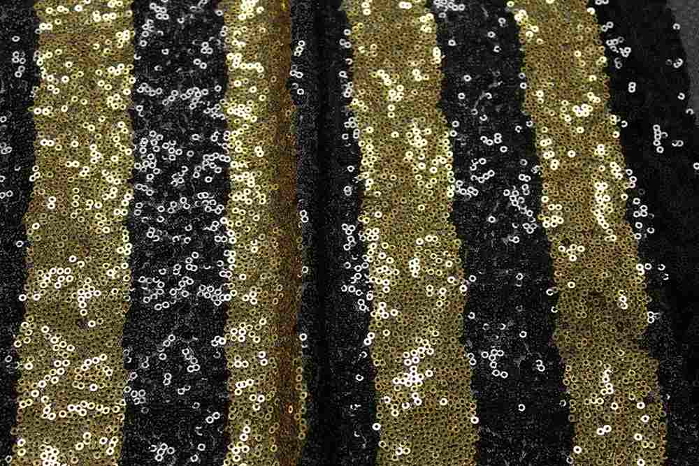 FIESTA / BLACK/GOLD-05 / 100% Polyester