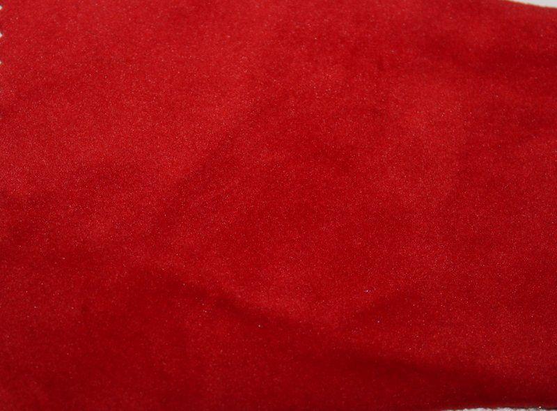 VELVETEEN / FIRE RED-1011 / 100% Polyester 183cm