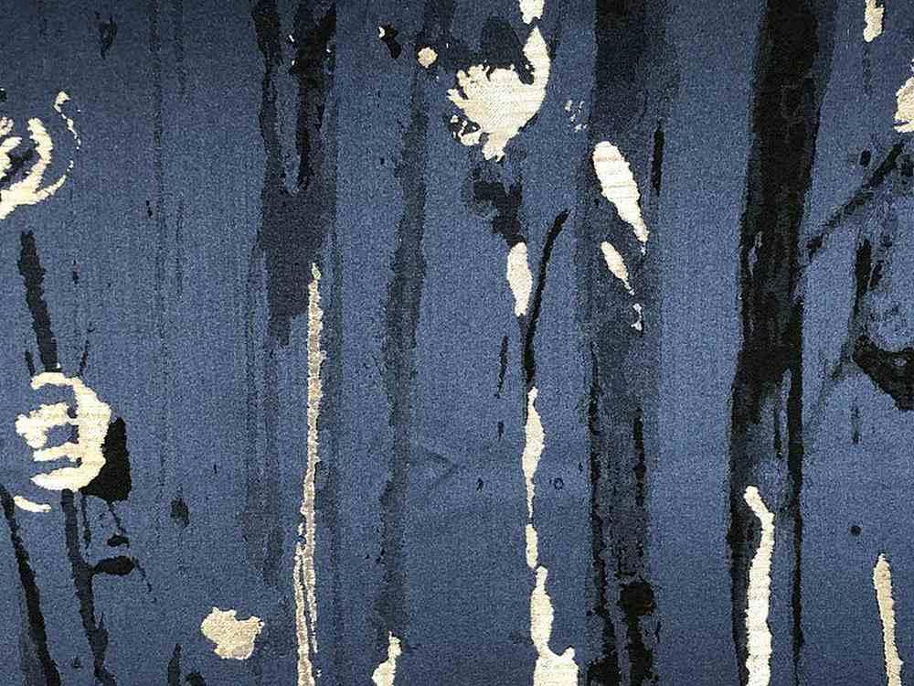 DES ARTS / NAVY-6 / 100% Polyester