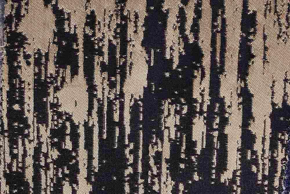 LENORA / GOLD/BLACK-502 / 100% Polyester